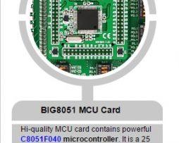 BIG8051-mcucard-100-pin-with-C8051F040