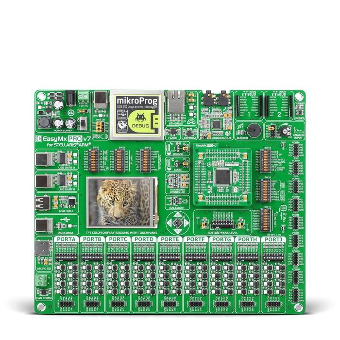 EasyMx PRO™ v7 for Tiva™ C Series
