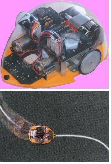 Robot Line Tracking Mouse - Kit Educativo