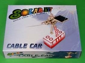 Teleférico Solar - Kit Educativo